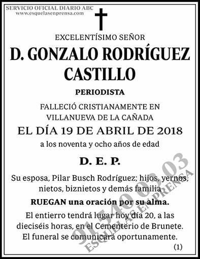Gonzalo Rodríguez Castillo